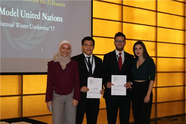 Jordan Model United Nations 2017