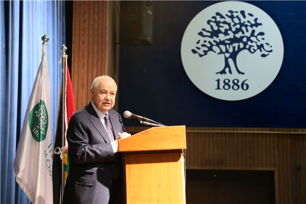 Talal Abu Ghazaleh Speaks to ISC-Amman High School students